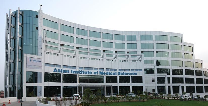 Asian institute of medical sciences faridabad bg