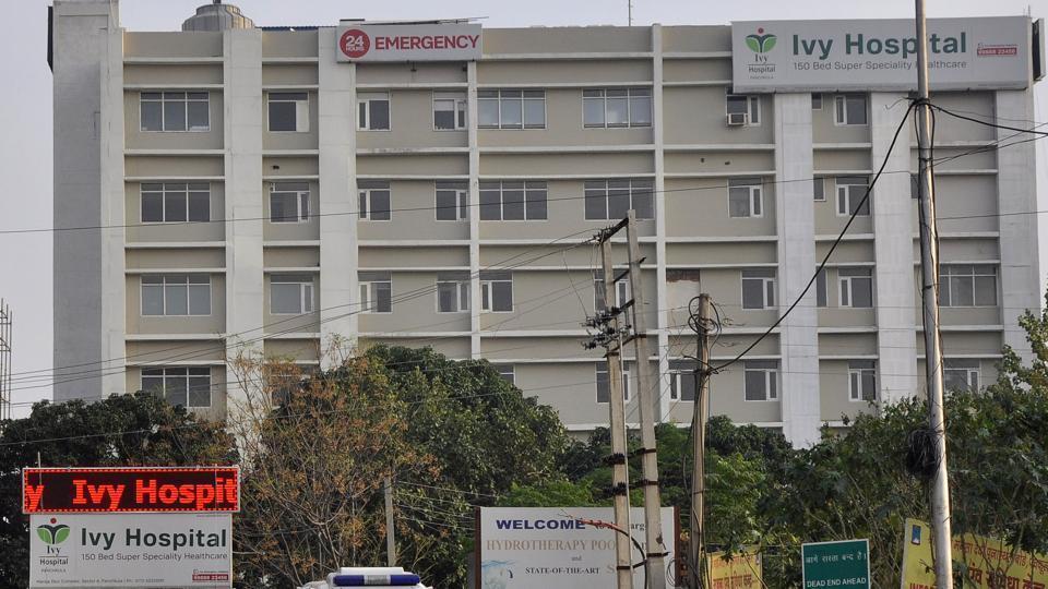 Ivy hospital  panchkula