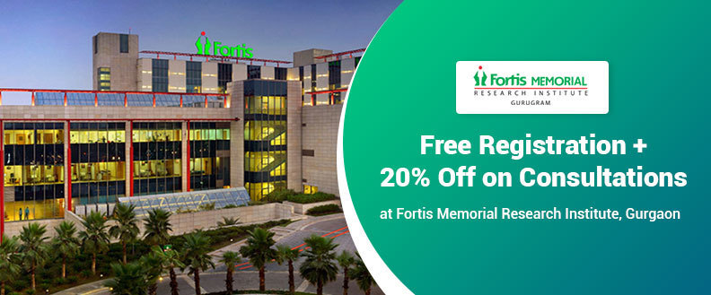 Registration FREE + 20% Discount on OPD Fee