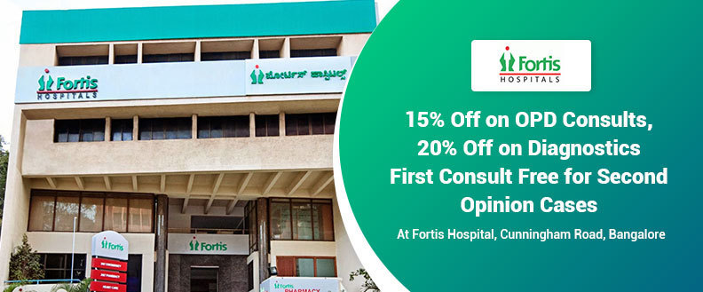 Fortis hospital  cunningham road   bangalore
