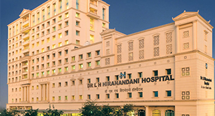 Cancer Therapy Centre Dr LH Hiranandani Hospital,  Powai, Mumbai